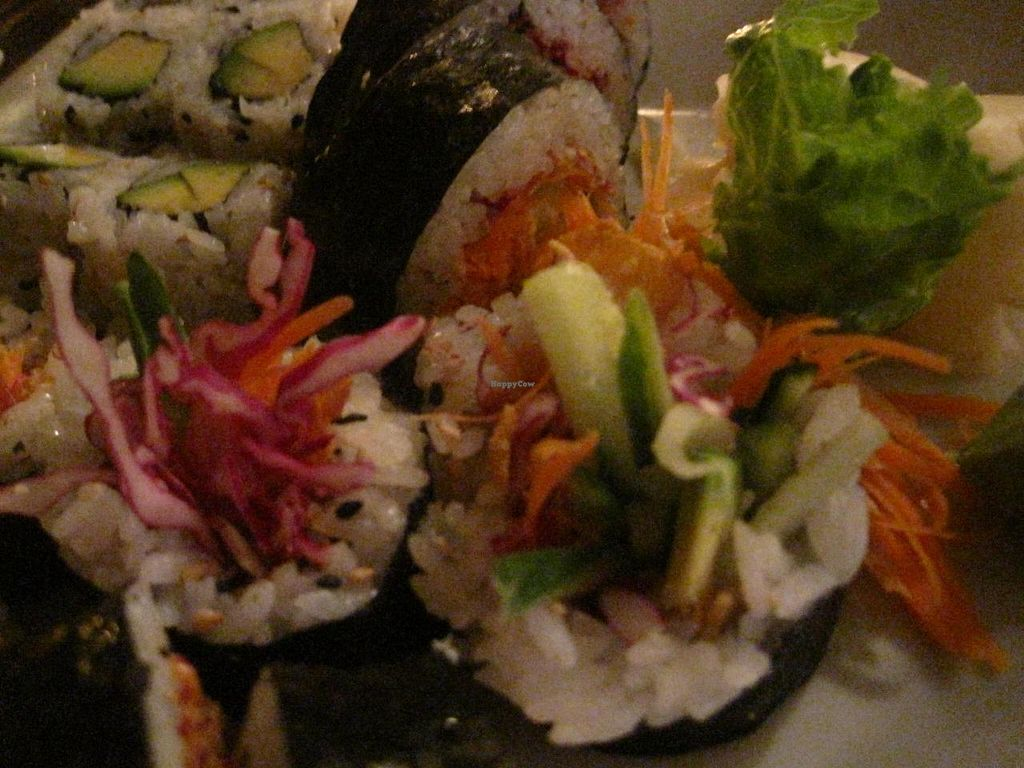 """Photo of Sata Sushi  by <a href=""""/members/profile/Babette"""">Babette</a> <br/>Assortment of vegan sushis <br/> May 25, 2015  - <a href='/contact/abuse/image/45990/103383'>Report</a>"""