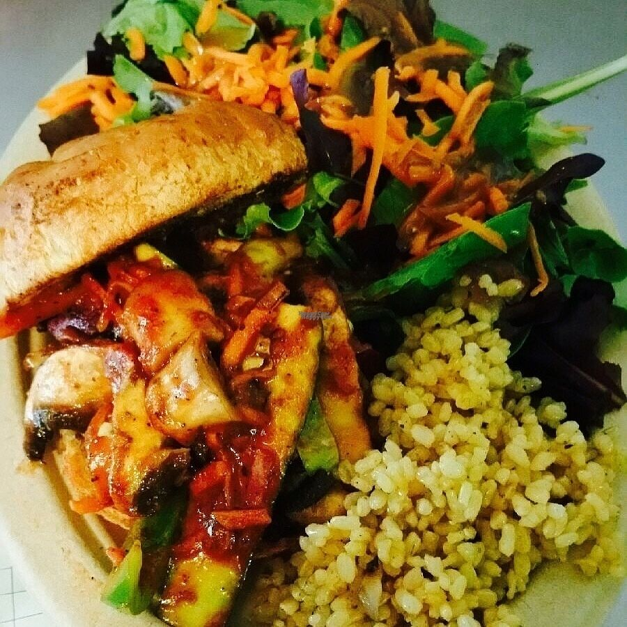 """Photo of Sweet Yams Organic Takeout  by <a href=""""/members/profile/ShannonBard"""">ShannonBard</a> <br/>Organic/Gluten Free Veggie Po'Boy <br/> October 8, 2016  - <a href='/contact/abuse/image/46015/180520'>Report</a>"""