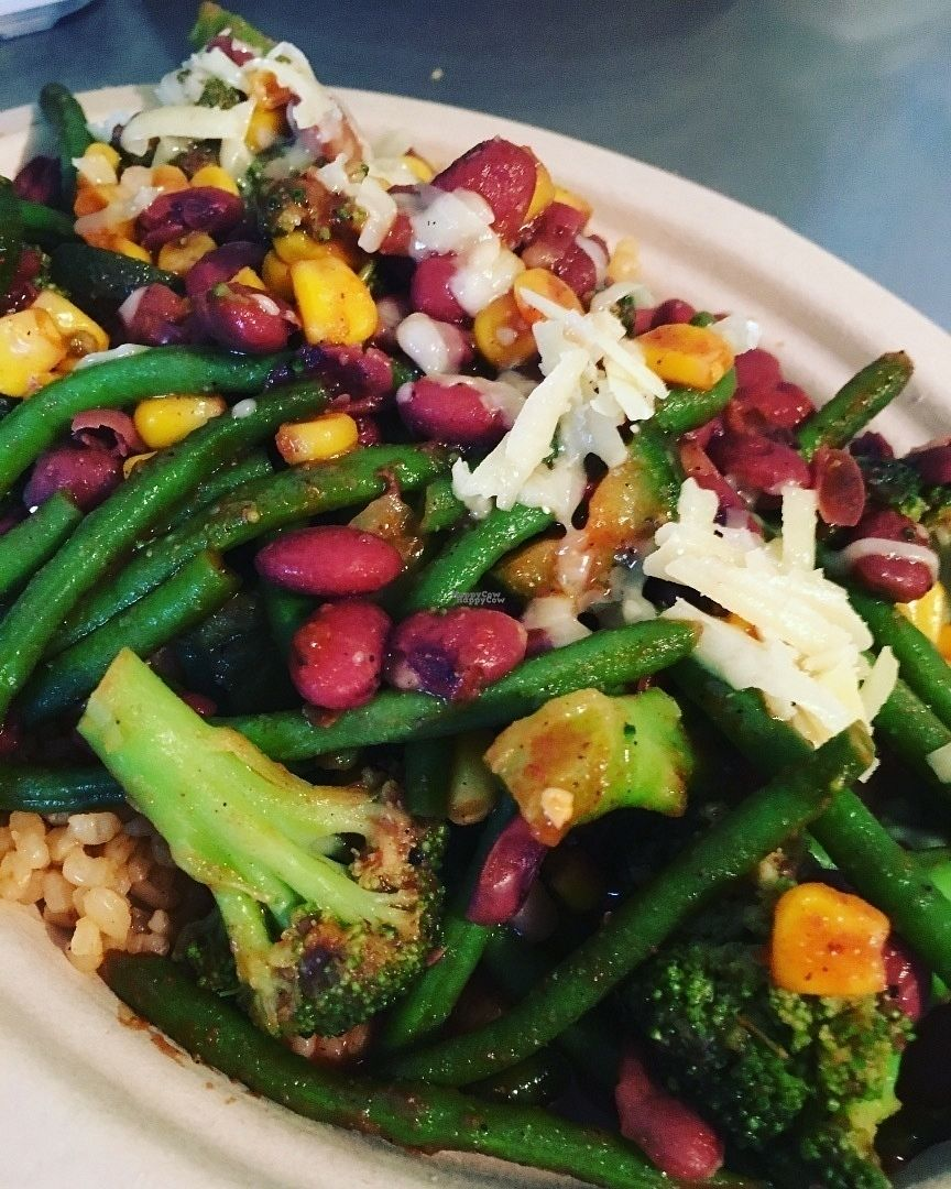 """Photo of Sweet Yams Organic Takeout  by <a href=""""/members/profile/ShannonBard"""">ShannonBard</a> <br/>Organic Melody Maker added red beans and brown rice  <br/> October 8, 2016  - <a href='/contact/abuse/image/46015/180521'>Report</a>"""