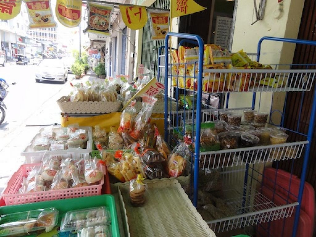 """Photo of Jae Tom Vegetarian Restaurant  by <a href=""""/members/profile/Ianthewander"""">Ianthewander</a> <br/>Packaged snacks <br/> March 21, 2014  - <a href='/contact/abuse/image/46022/66235'>Report</a>"""