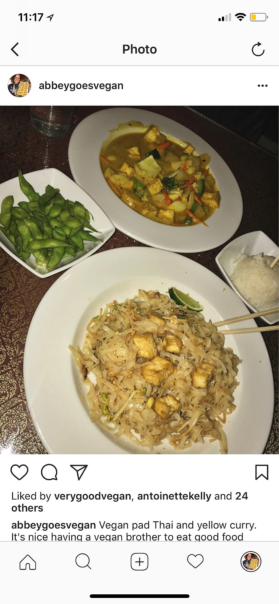 """Photo of Thai Siam  by <a href=""""/members/profile/AbigailAnnaFoster"""">AbigailAnnaFoster</a> <br/>Pineapple fried rice <br/> April 15, 2018  - <a href='/contact/abuse/image/46026/386010'>Report</a>"""