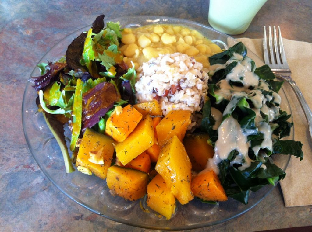 """Photo of Shangri-La Vegan - Linden  by <a href=""""/members/profile/earthbvnny"""">earthbvnny</a> <br/>nourishing food for the soul! <br/> September 21, 2015  - <a href='/contact/abuse/image/4604/118697'>Report</a>"""
