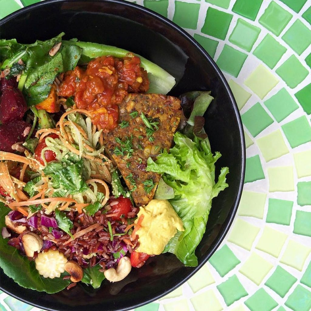Photo of The Sanctuary  by KelBell <br/>Vegan Nourish Bowl!!! <br/> January 29, 2016  - <a href='/contact/abuse/image/4605/134142'>Report</a>