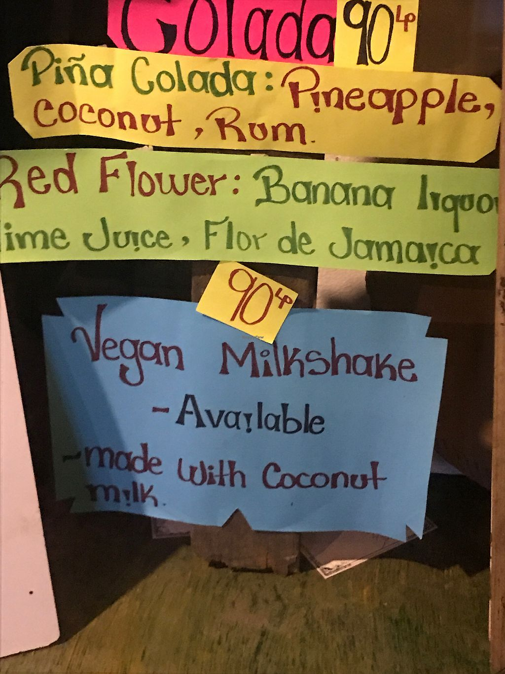 """Photo of B-Leaf Reataurant at The Jade Sea Horse  by <a href=""""/members/profile/IndreArbataityte"""">IndreArbataityte</a> <br/>Vegan milkshakes <br/> March 31, 2018  - <a href='/contact/abuse/image/46062/379105'>Report</a>"""