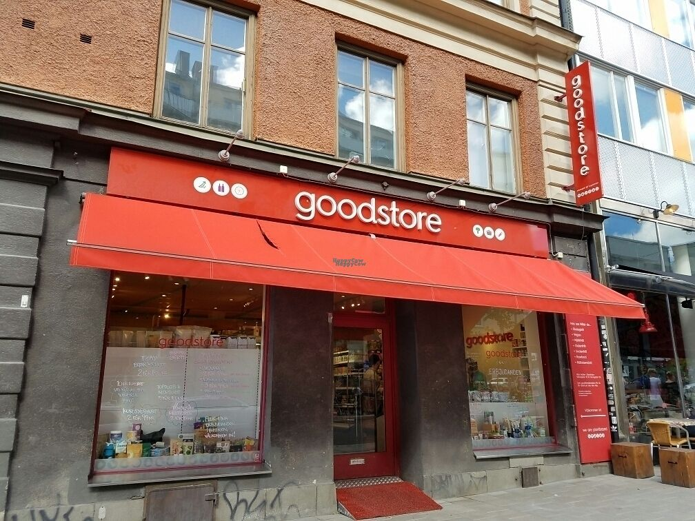 "Photo of Goodstore - Hornsgatan  by <a href=""/members/profile/EverydayTastiness"">EverydayTastiness</a> <br/>outside <br/> August 27, 2016  - <a href='/contact/abuse/image/46072/171733'>Report</a>"