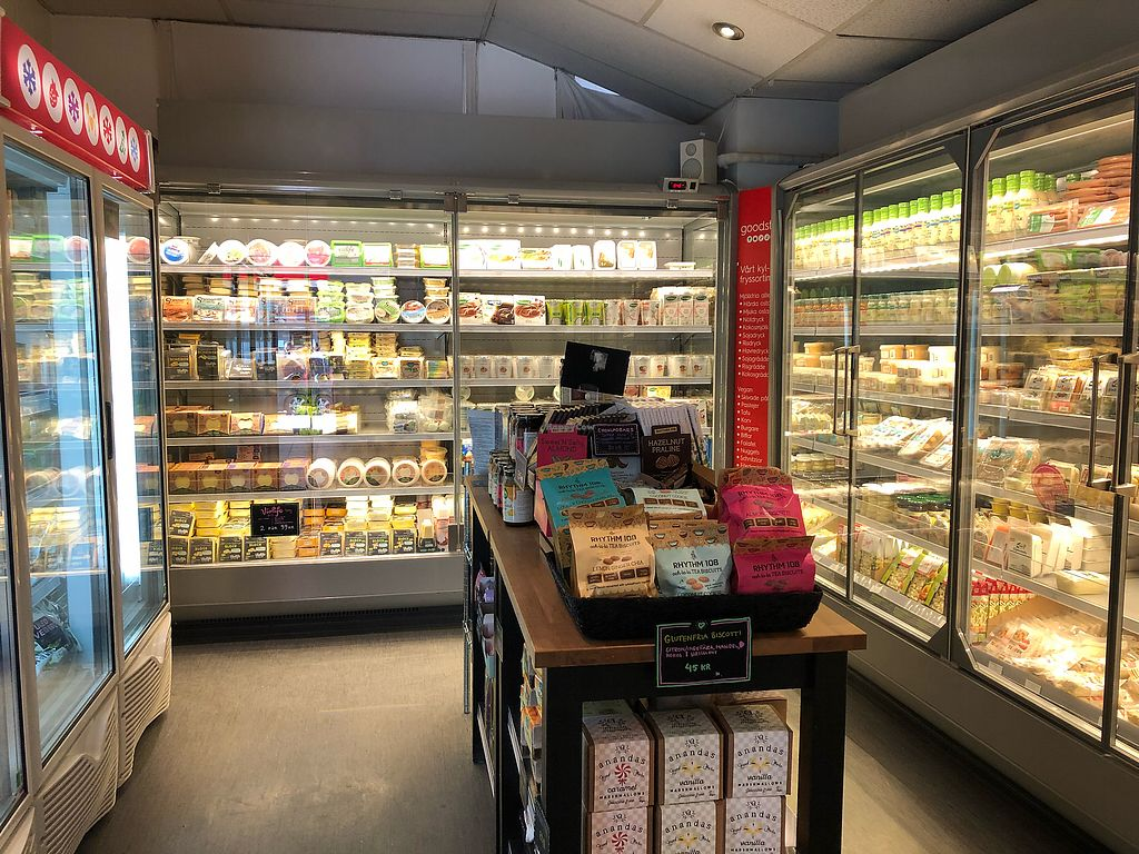 "Photo of Goodstore - Hornsgatan  by <a href=""/members/profile/HaileyPoLa"">HaileyPoLa</a> <br/>Ice cream, cheese, mock meat, etc <br/> April 20, 2018  - <a href='/contact/abuse/image/46072/388566'>Report</a>"