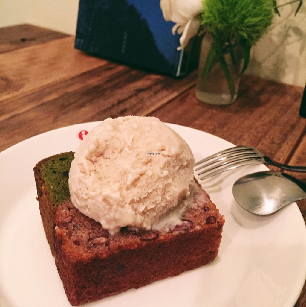 """Photo of Phono Kafe  by <a href=""""/members/profile/Michelleykat"""">Michelleykat</a> <br/>tea cake and I cream  <br/> May 17, 2016  - <a href='/contact/abuse/image/46073/149545'>Report</a>"""