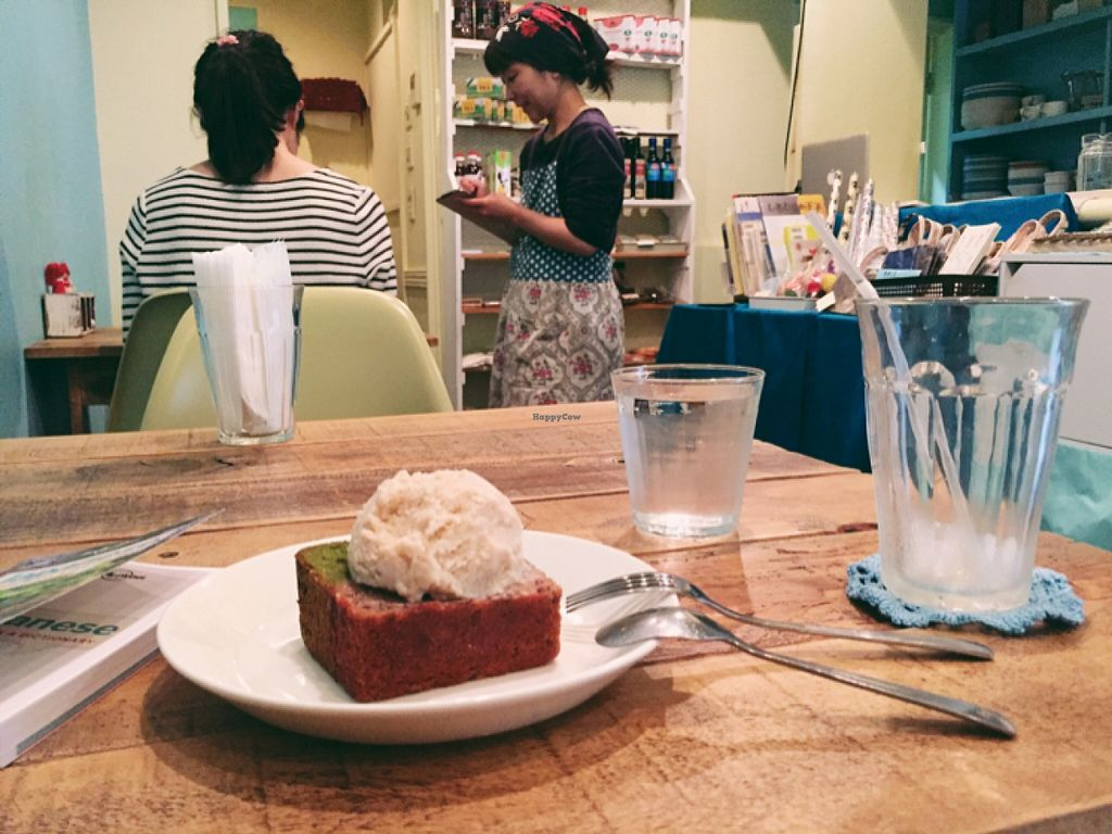 """Photo of Phono Kafe  by <a href=""""/members/profile/Michelleykat"""">Michelleykat</a> <br/>friendly staff :) <br/> May 17, 2016  - <a href='/contact/abuse/image/46073/149546'>Report</a>"""