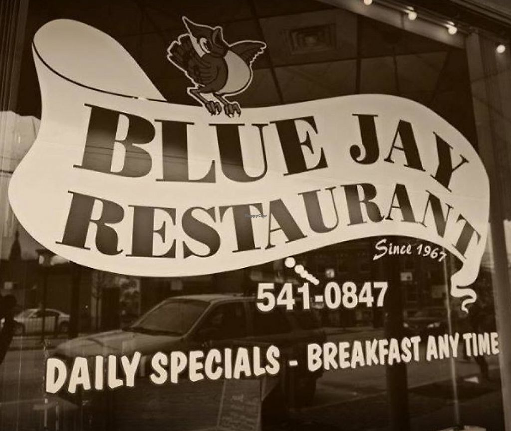 "Photo of Blue Jay Restaurant  by <a href=""/members/profile/community"">community</a> <br/>Signage <br/> April 15, 2014  - <a href='/contact/abuse/image/46083/216269'>Report</a>"