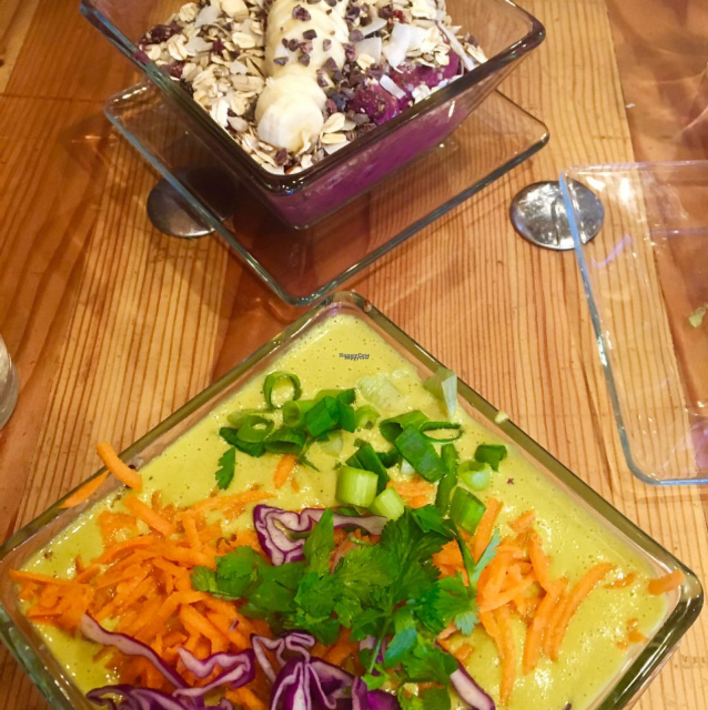 """Photo of NW Raw  by <a href=""""/members/profile/tsubbass"""">tsubbass</a> <br/>Thai curry bowl and breakfast bowl <br/> January 11, 2017  - <a href='/contact/abuse/image/46101/210885'>Report</a>"""