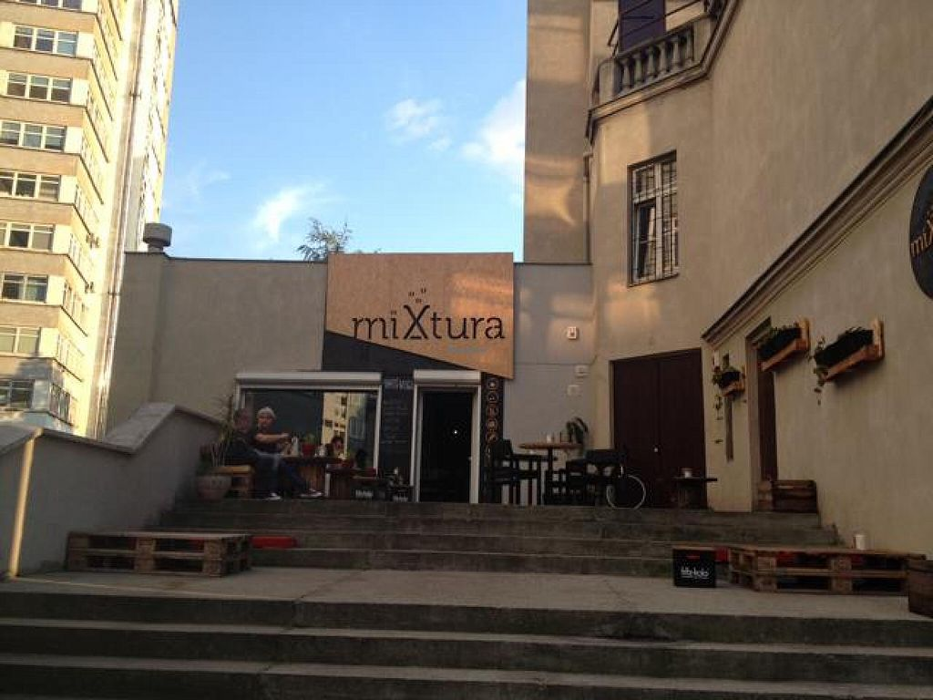 """Photo of miXtura  by <a href=""""/members/profile/marivegan"""">marivegan</a> <br/>miXtura veggie restaurant <br/> August 6, 2014  - <a href='/contact/abuse/image/46102/76184'>Report</a>"""
