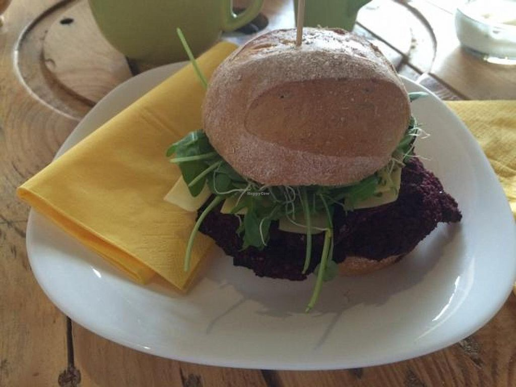 """Photo of miXtura  by <a href=""""/members/profile/macello"""">macello</a> <br/>beetroot burger <br/> November 14, 2014  - <a href='/contact/abuse/image/46102/85572'>Report</a>"""