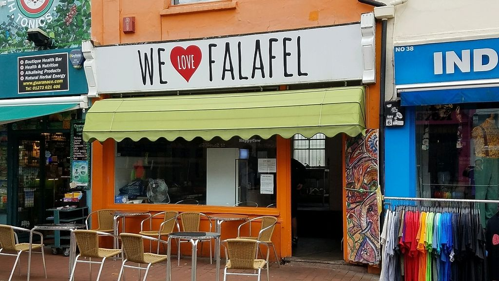 """Photo of We Love Falafel  by <a href=""""/members/profile/eric"""">eric</a> <br/>outside <br/> October 9, 2017  - <a href='/contact/abuse/image/46109/313582'>Report</a>"""