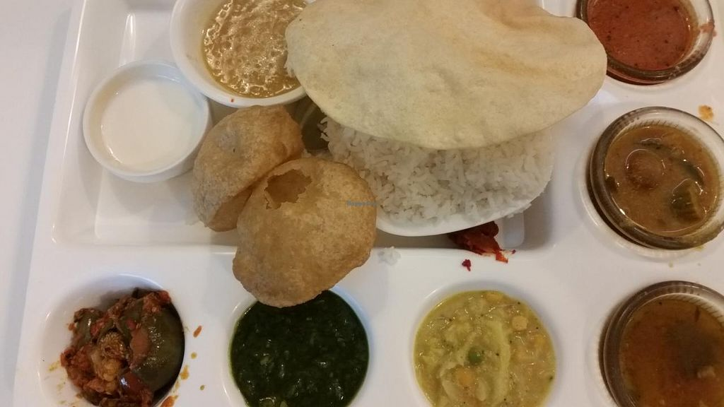 """Photo of Saravana Bhavan - Tanjong Pagar  by <a href=""""/members/profile/JimmySeah"""">JimmySeah</a> <br/>Saravana Special Meal <br/> April 15, 2015  - <a href='/contact/abuse/image/46119/99122'>Report</a>"""