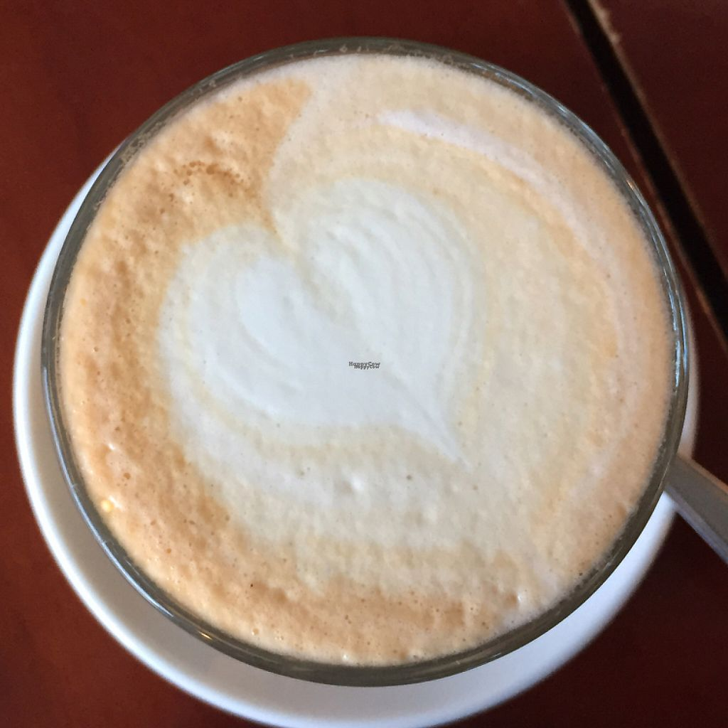 """Photo of Koffie ende Koeck  by <a href=""""/members/profile/The%20London%20Vegan"""">The London Vegan</a> <br/>soy latte with love  <br/> January 29, 2017  - <a href='/contact/abuse/image/46128/219048'>Report</a>"""