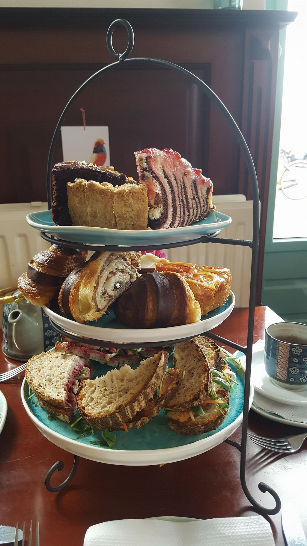 """Photo of Koffie ende Koeck  by <a href=""""/members/profile/happyowl"""">happyowl</a> <br/>High tea <br/> May 23, 2018  - <a href='/contact/abuse/image/46128/403893'>Report</a>"""