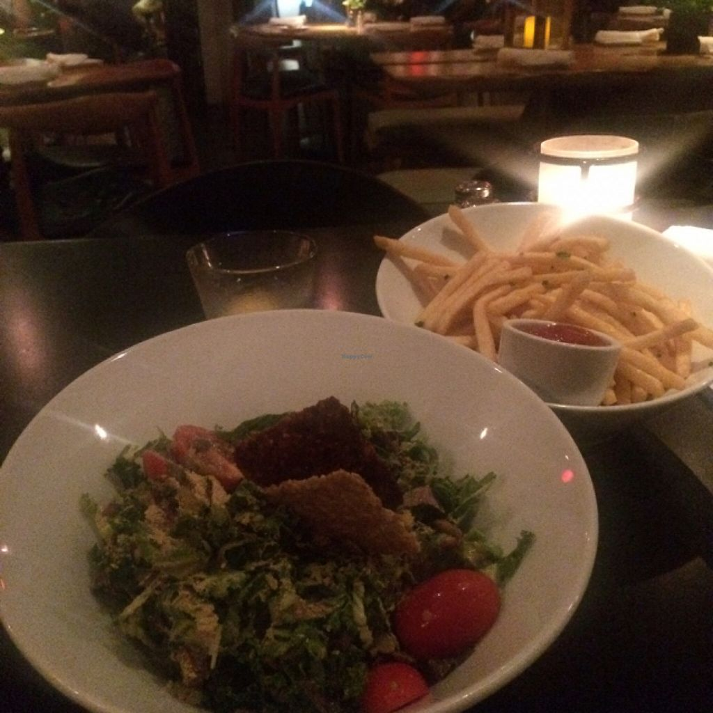 """Photo of Shore Diner  by <a href=""""/members/profile/VEGGINIQUE"""">VEGGINIQUE</a> <br/>kale Ceaser-vegan <br/> September 26, 2015  - <a href='/contact/abuse/image/46133/119248'>Report</a>"""