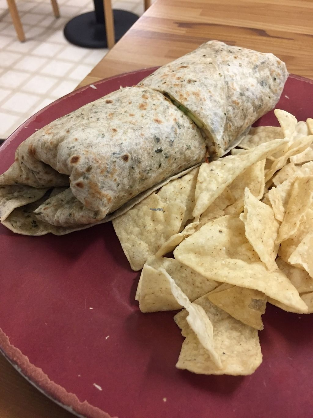 "Photo of Sunflower Natural Food Store and Deli  by <a href=""/members/profile/SFRobbie"">SFRobbie</a> <br/>Vegan tempeh spinach wrap <br/> December 10, 2016  - <a href='/contact/abuse/image/4613/198839'>Report</a>"