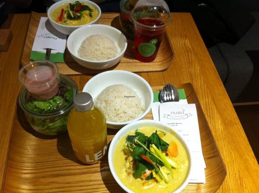 "Photo of nusu  by <a href=""/members/profile/SalomePB"">SalomePB</a> <br/>Vegan curry and salad (sauce) <br/> May 4, 2014  - <a href='/contact/abuse/image/46158/69354'>Report</a>"