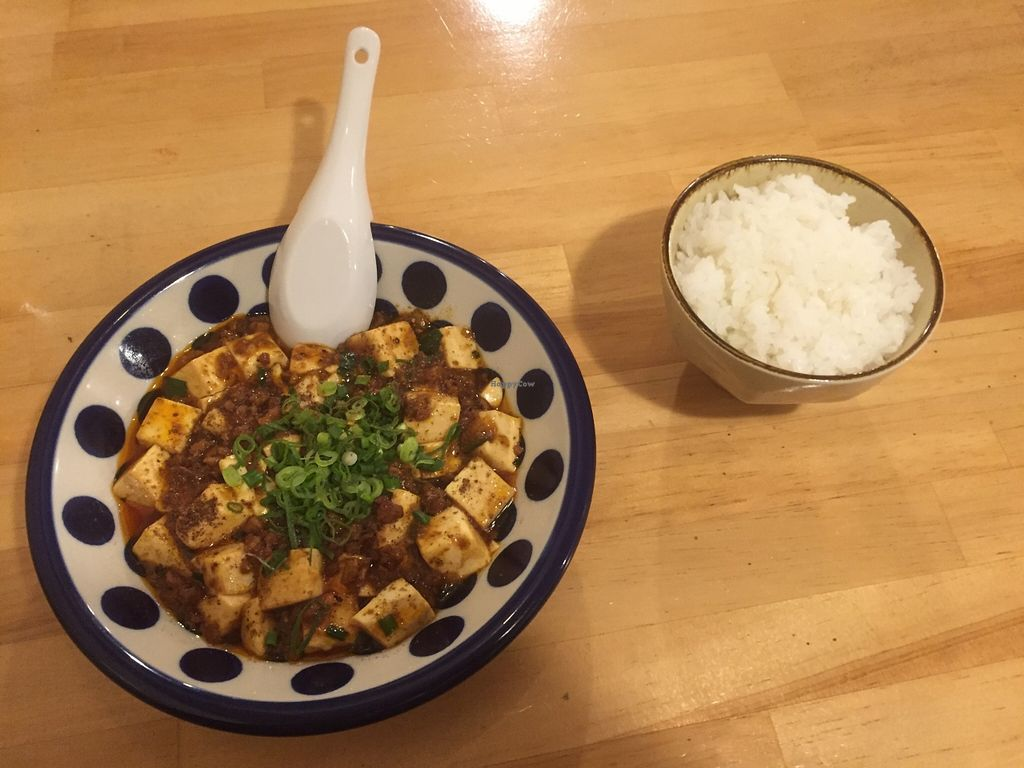 "Photo of Lo Fuo  by <a href=""/members/profile/iokan"">iokan</a> <br/>Mabo tofu and rice <br/> December 14, 2015  - <a href='/contact/abuse/image/46161/128423'>Report</a>"