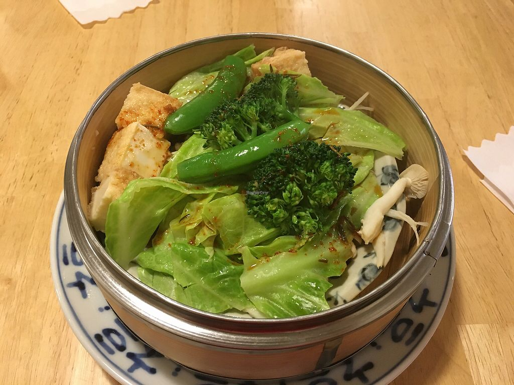 "Photo of Lo Fuo  by <a href=""/members/profile/Siup"">Siup</a> <br/>Steamed veggies and tofu  <br/> April 8, 2018  - <a href='/contact/abuse/image/46161/382299'>Report</a>"