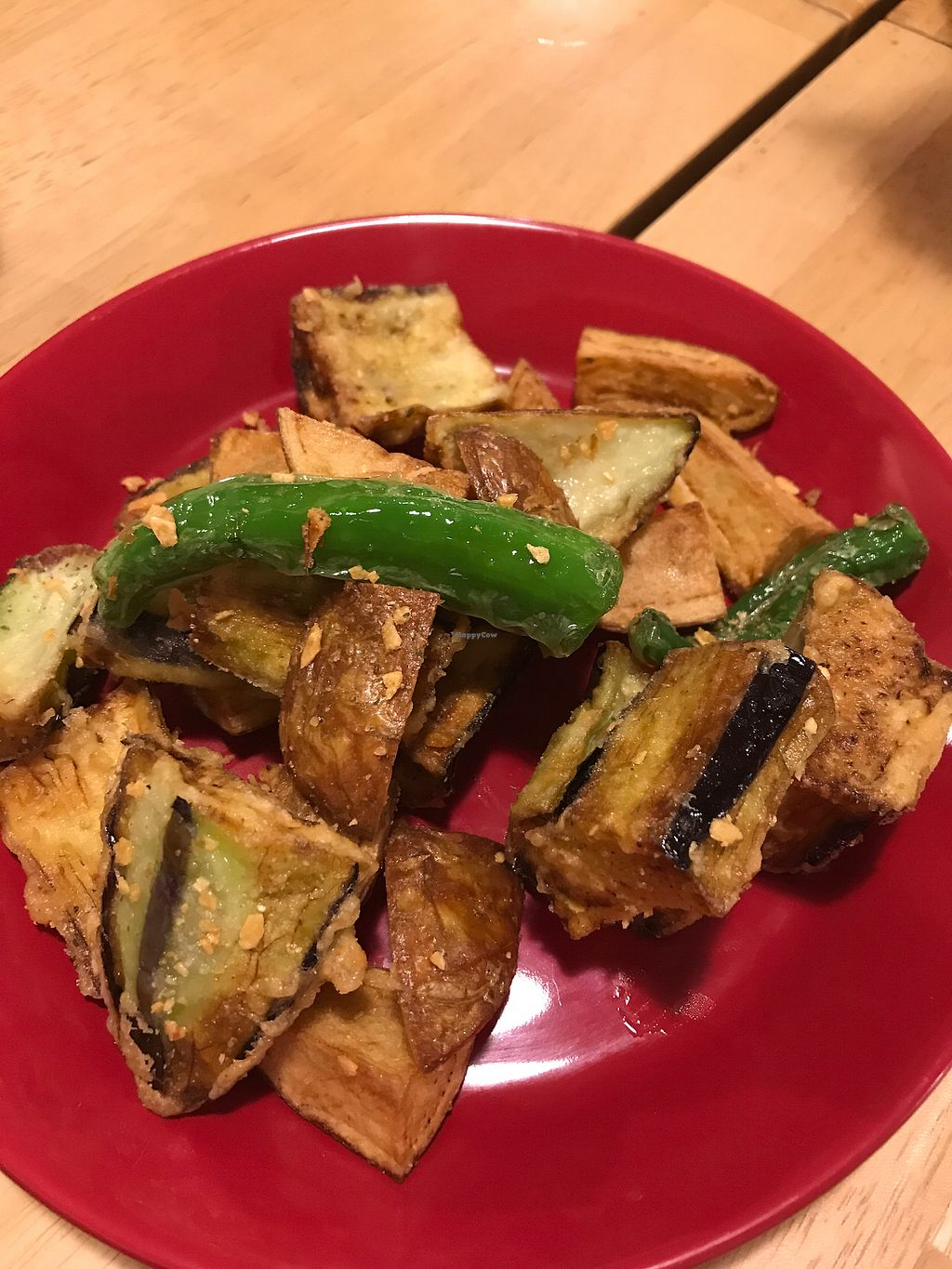 "Photo of Lo Fuo  by <a href=""/members/profile/TrangDang"">TrangDang</a> <br/>Potato pepper eggplant fries  <br/> May 7, 2018  - <a href='/contact/abuse/image/46161/396460'>Report</a>"
