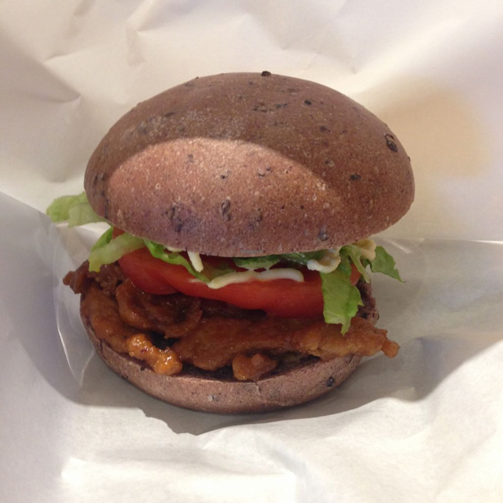 """Photo of LOVE Pacific Cafe  by <a href=""""/members/profile/selena"""">selena</a> <br/>soy burger <br/> February 15, 2016  - <a href='/contact/abuse/image/46216/136516'>Report</a>"""