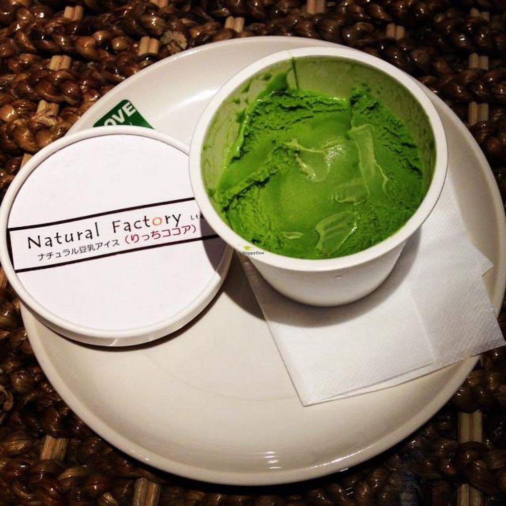 """Photo of LOVE Pacific Cafe  by <a href=""""/members/profile/kat.ross"""">kat.ross</a> <br/>matcha gelato <br/> May 5, 2014  - <a href='/contact/abuse/image/46216/69379'>Report</a>"""