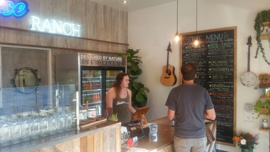 """Photo of Juice Ranch  by <a href=""""/members/profile/kenvegan"""">kenvegan</a> <br/>inside <br/> October 11, 2015  - <a href='/contact/abuse/image/46231/121042'>Report</a>"""