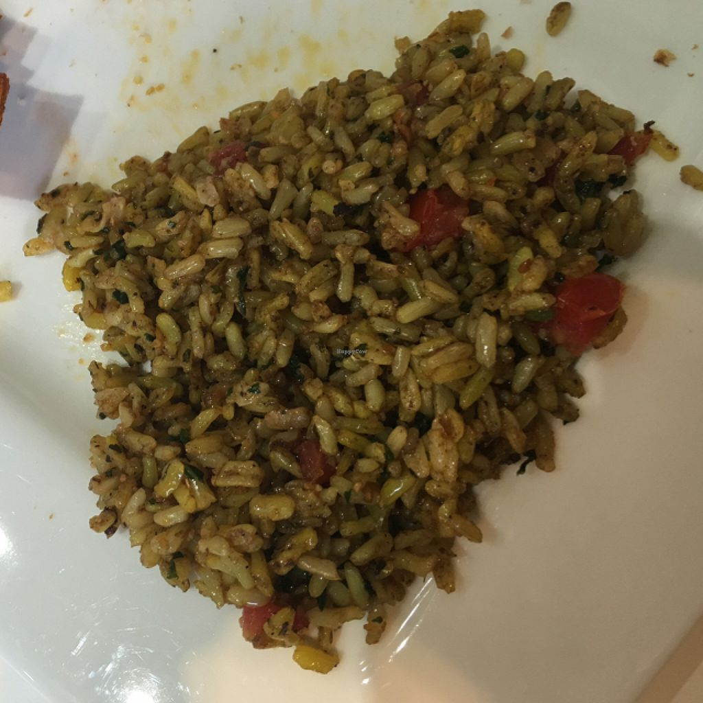 """Photo of The New Vegan  by <a href=""""/members/profile/4SeasonVegan"""">4SeasonVegan</a> <br/>Saved the best for last! Their house rice is so good! <br/> June 11, 2016  - <a href='/contact/abuse/image/46238/153512'>Report</a>"""