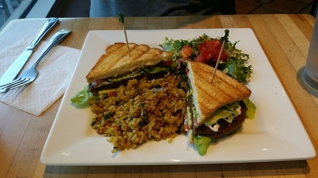 """Photo of The New Vegan  by <a href=""""/members/profile/tracyrocks"""">tracyrocks</a> <br/>Portobello burger  <br/> December 22, 2016  - <a href='/contact/abuse/image/46238/204128'>Report</a>"""