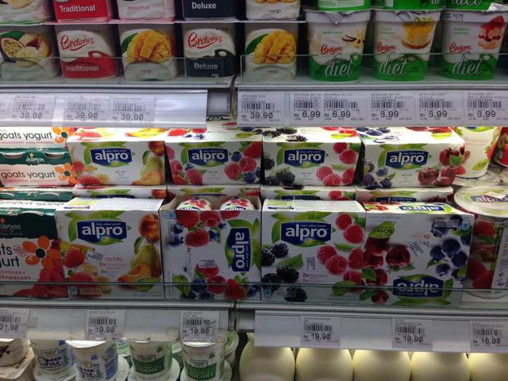"Photo of Village Grocer  by <a href=""/members/profile/AndyT"">AndyT</a> <br/>Soy yoghurt selection <br/> April 10, 2014  - <a href='/contact/abuse/image/46267/67317'>Report</a>"