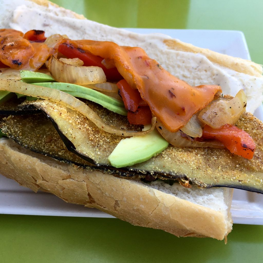 """Photo of Seed  by <a href=""""/members/profile/RikkiFox"""">RikkiFox</a> <br/>eggplant poboy. To die for! <br/> March 22, 2016  - <a href='/contact/abuse/image/46277/140949'>Report</a>"""