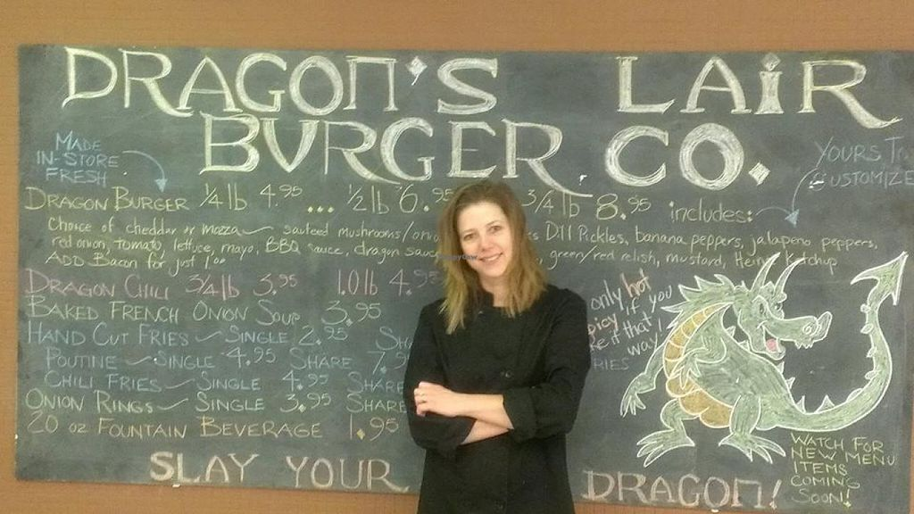 "Photo of Dragon's Lair Burger Co.  by <a href=""/members/profile/community"">community</a> <br/>Dragon's Lair Burger Co <br/> April 3, 2014  - <a href='/contact/abuse/image/46309/66981'>Report</a>"