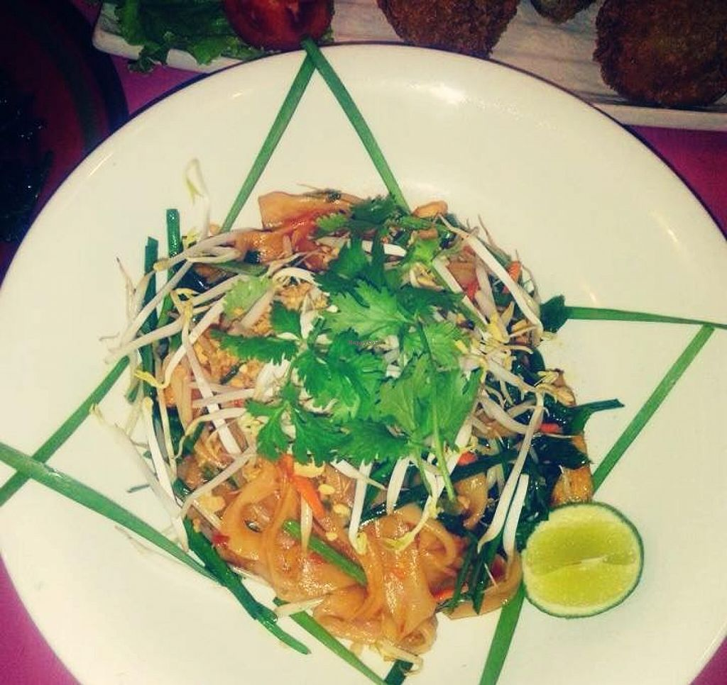 """Photo of Prem Bistro and Cafe  by <a href=""""/members/profile/VanVeganHanoi"""">VanVeganHanoi</a> <br/>Pad Thai  <br/> February 14, 2016  - <a href='/contact/abuse/image/46313/136262'>Report</a>"""