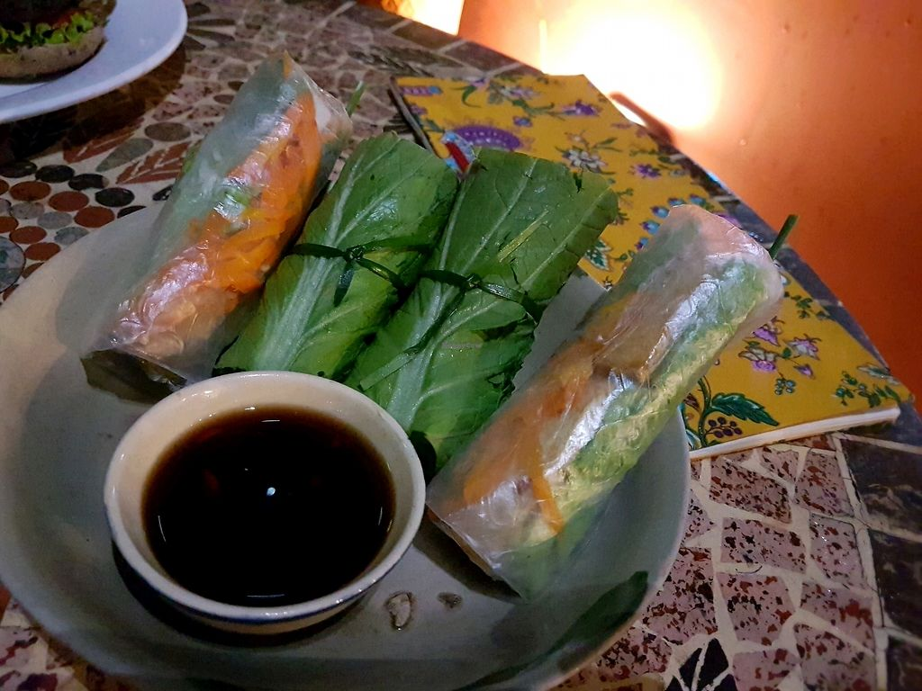 """Photo of Prem Bistro and Cafe  by <a href=""""/members/profile/PeterRichards"""">PeterRichards</a> <br/>fresh rolls.... tangy and tasty <br/> September 21, 2017  - <a href='/contact/abuse/image/46313/306749'>Report</a>"""