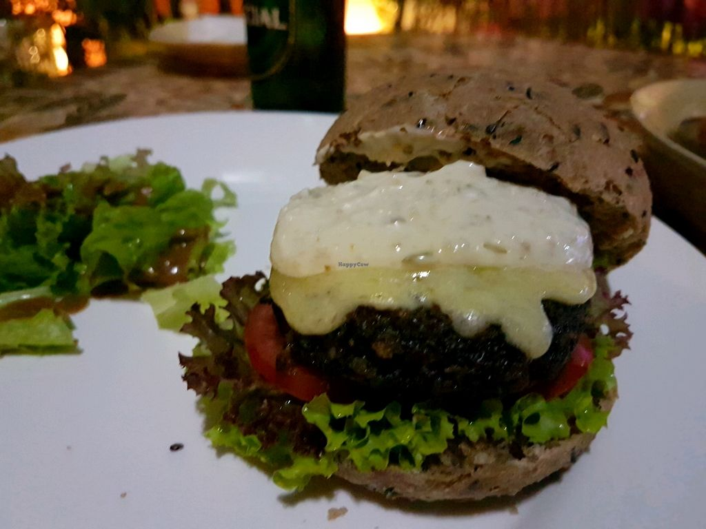 """Photo of Prem Bistro and Cafe  by <a href=""""/members/profile/PeterRichards"""">PeterRichards</a> <br/>portabello mushroom burger <br/> September 21, 2017  - <a href='/contact/abuse/image/46313/306750'>Report</a>"""