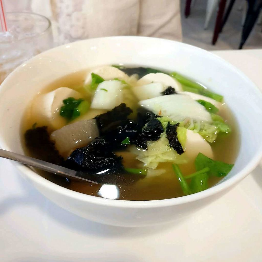 """Photo of The Rice and Healthy Food  by <a href=""""/members/profile/bbpp108"""">bbpp108</a> <br/>Tofu soup.  <br/> February 2, 2018  - <a href='/contact/abuse/image/46314/354056'>Report</a>"""