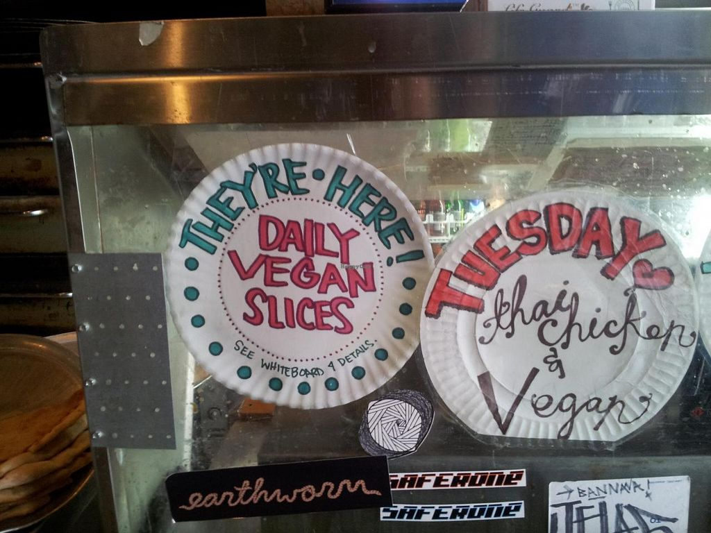 Photo of Pie Hole  by Navegante <br/>Vegan slices <br/> April 6, 2014  - <a href='/contact/abuse/image/46328/67147'>Report</a>