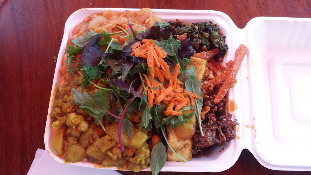 """Photo of CLOSED: Vital-Life Vegan  by <a href=""""/members/profile/Vegan%20GiGi"""">Vegan GiGi</a> <br/>Delicious food at Vital Life <br/> October 25, 2016  - <a href='/contact/abuse/image/46333/184371'>Report</a>"""
