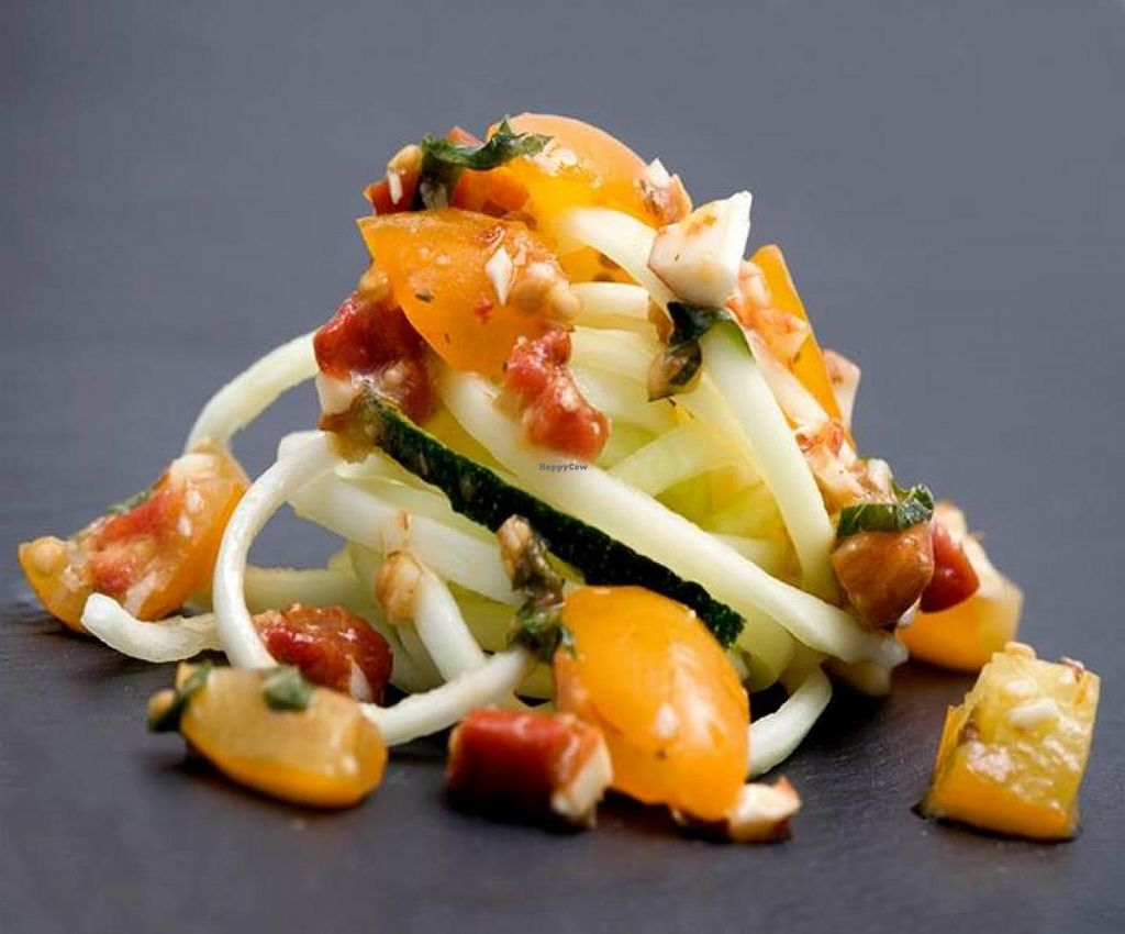 """Photo of Osteria al 55  by <a href=""""/members/profile/community"""">community</a> <br/>Zucchini Spaghetti <br/> May 31, 2014  - <a href='/contact/abuse/image/46338/71180'>Report</a>"""