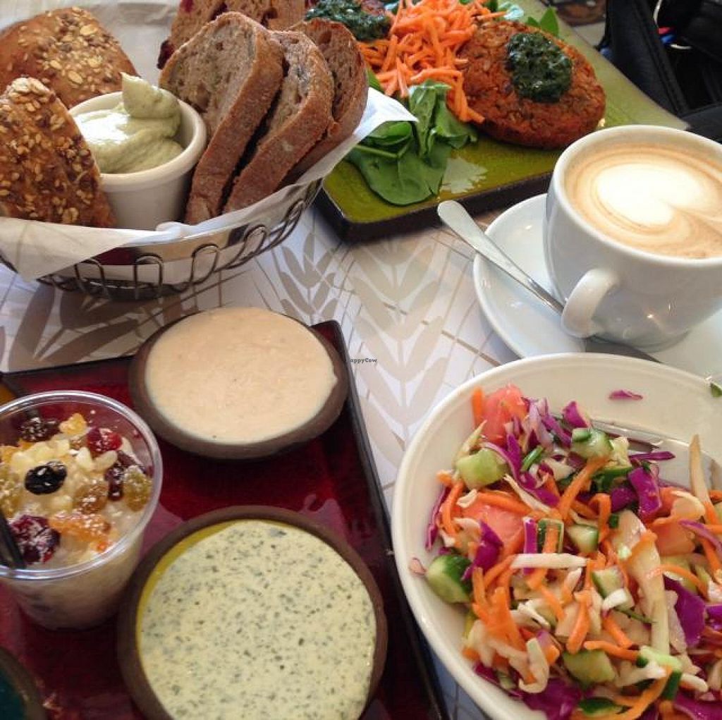 """Photo of CLOSED: Cafe Louise - Rothschild  by <a href=""""/members/profile/Brok%20O.%20Lee"""">Brok O. Lee</a> <br/>Vegan Breakfast <br/> April 6, 2014  - <a href='/contact/abuse/image/46361/67140'>Report</a>"""