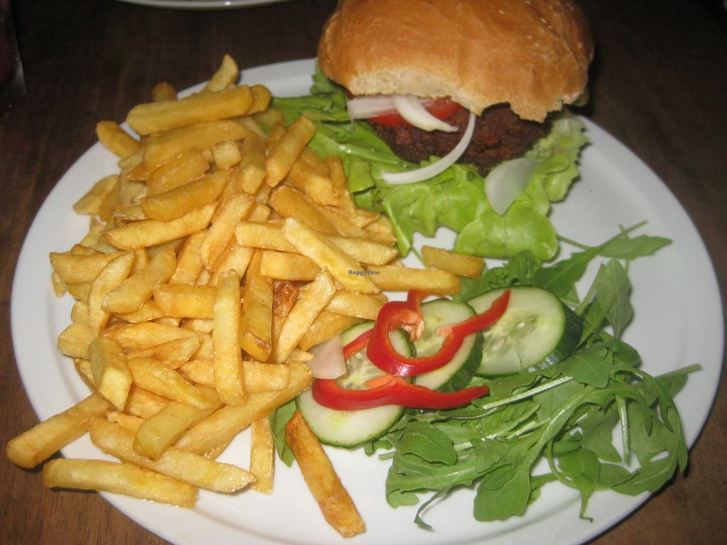 "Photo of CLOSED: Junk Food Cafe  by <a href=""/members/profile/jennyc32"">jennyc32</a> <br/>Tempeh Burger <br/> September 13, 2015  - <a href='/contact/abuse/image/46362/117597'>Report</a>"