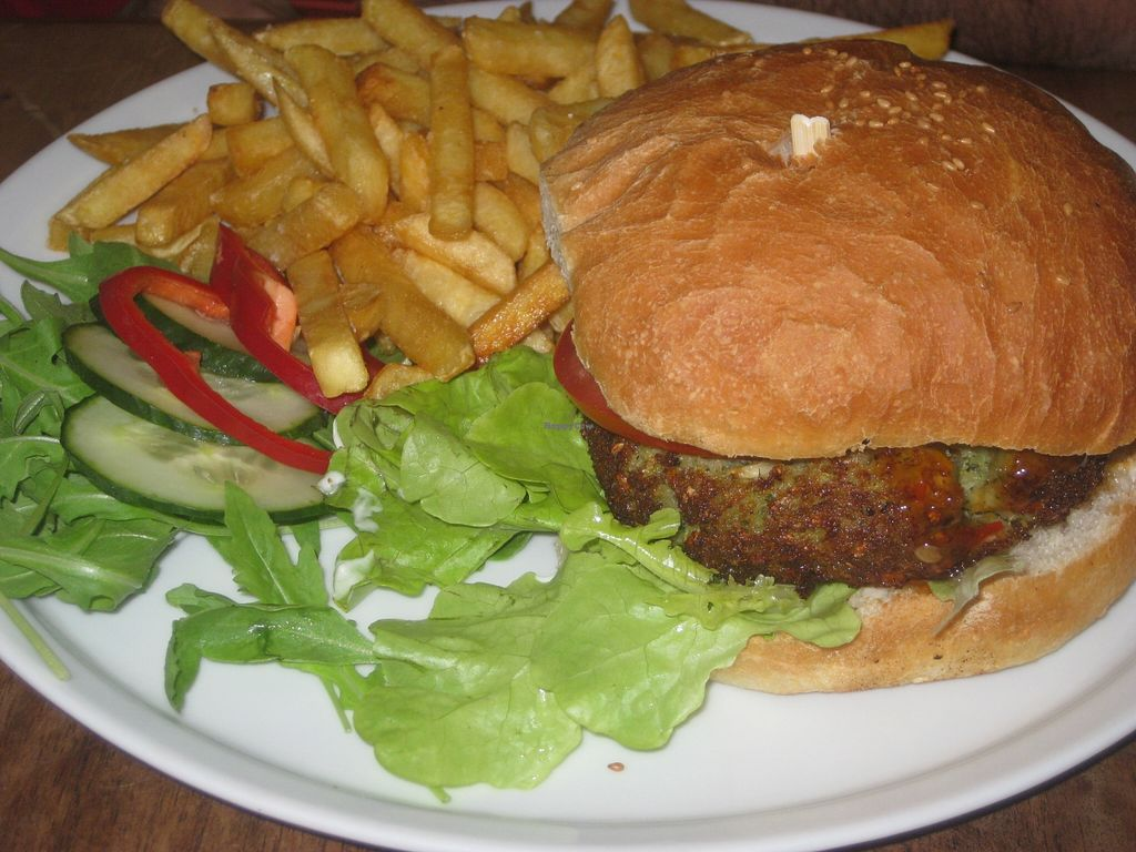 "Photo of CLOSED: Junk Food Cafe  by <a href=""/members/profile/jennyc32"">jennyc32</a> <br/>Broccoli Burger <br/> September 13, 2015  - <a href='/contact/abuse/image/46362/117598'>Report</a>"