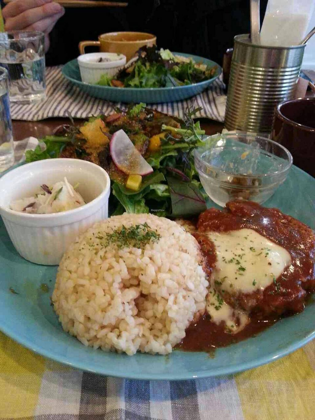 "Photo of CLOSED: The PINK WEED Cafe  by <a href=""/members/profile/necius"">necius</a> <br/>Soy-meat hamburg steak at The PINK WEED Cafe <br/> January 17, 2015  - <a href='/contact/abuse/image/46363/90582'>Report</a>"