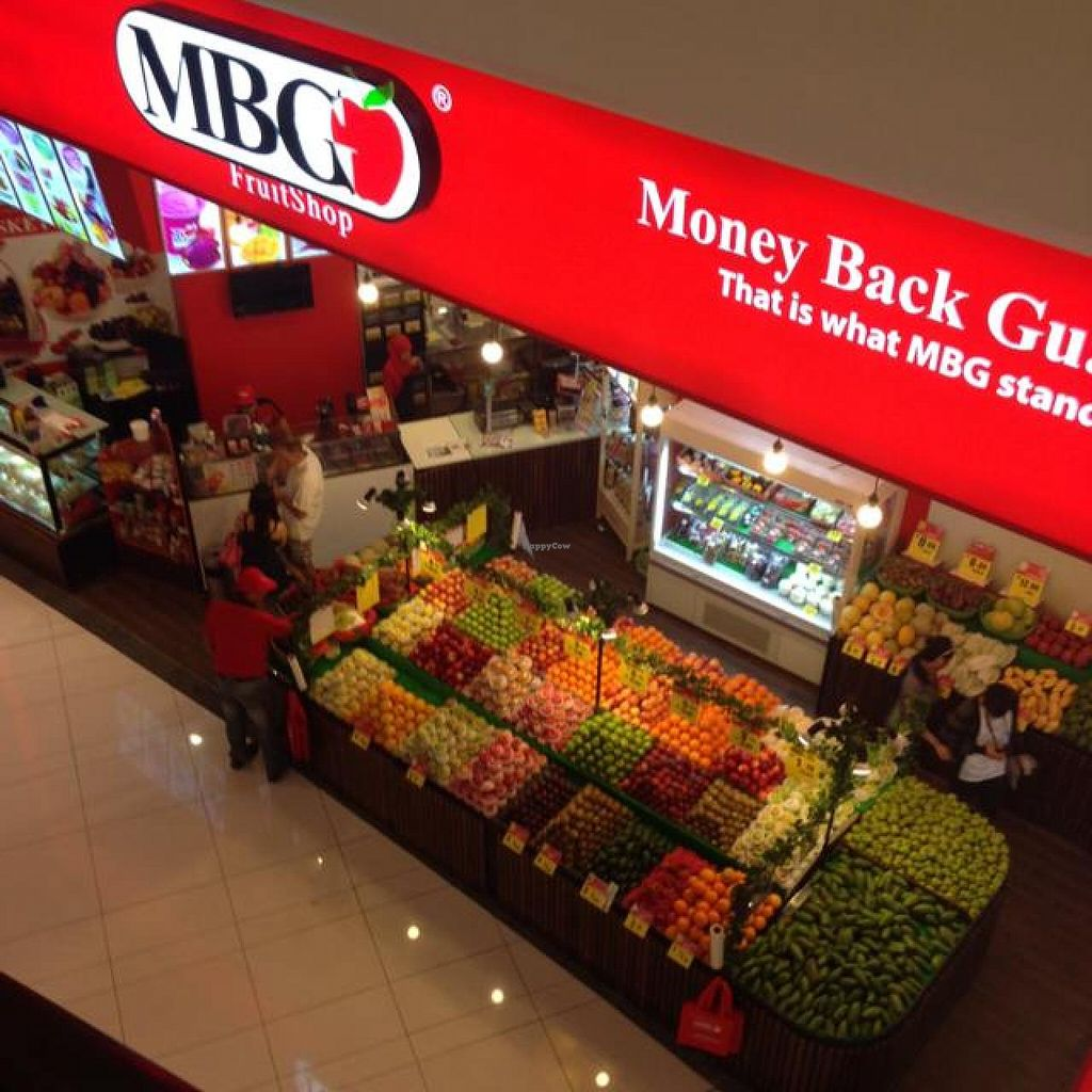"""Photo of MBG Fruit Shop - Tun Sambathan  by <a href=""""/members/profile/AndyT"""">AndyT</a> <br/>View from top of elevator <br/> April 8, 2014  - <a href='/contact/abuse/image/46379/67255'>Report</a>"""