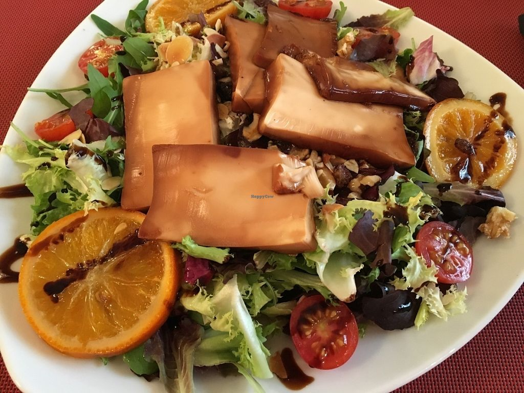 """Photo of Ca'n Limona  by <a href=""""/members/profile/simmiefairy"""">simmiefairy</a> <br/>Tofu salad, I guess. It was good <br/> July 28, 2016  - <a href='/contact/abuse/image/46401/162872'>Report</a>"""