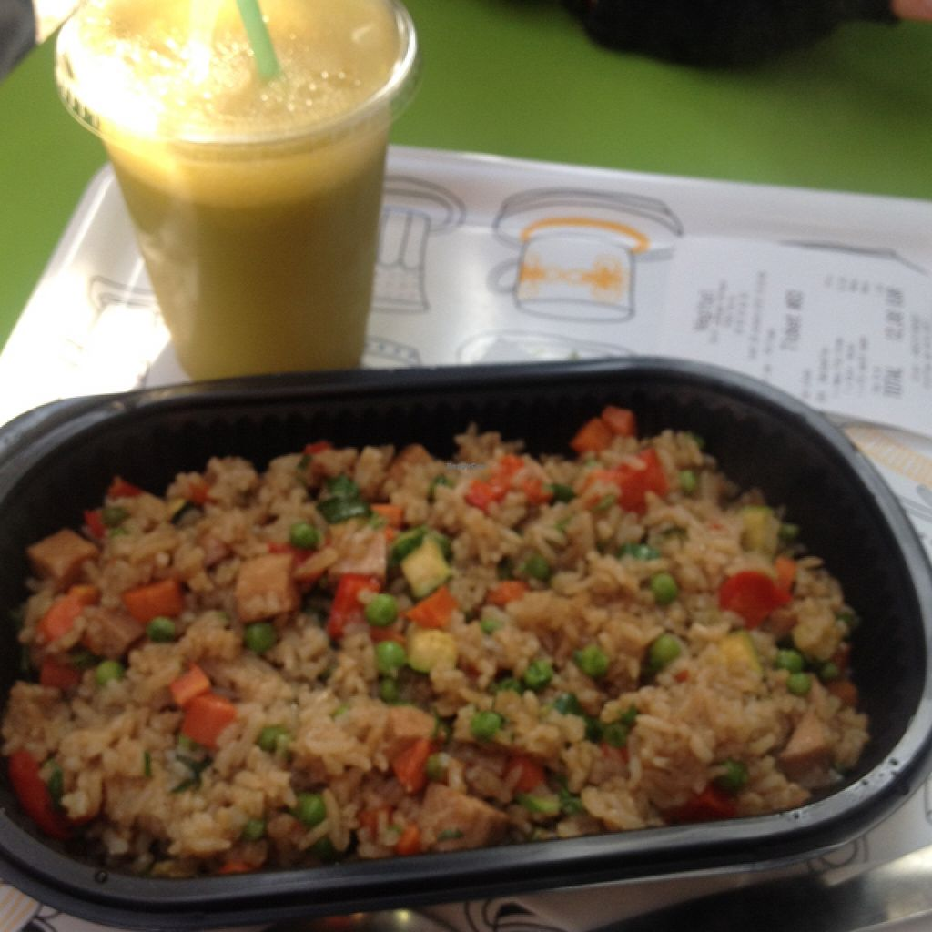 """Photo of CLOSED: Vegitai  by <a href=""""/members/profile/xgislen"""">xgislen</a> <br/>Daily Menu (Vegan Rice) + Kale Mix <br/> October 31, 2015  - <a href='/contact/abuse/image/46406/123331'>Report</a>"""