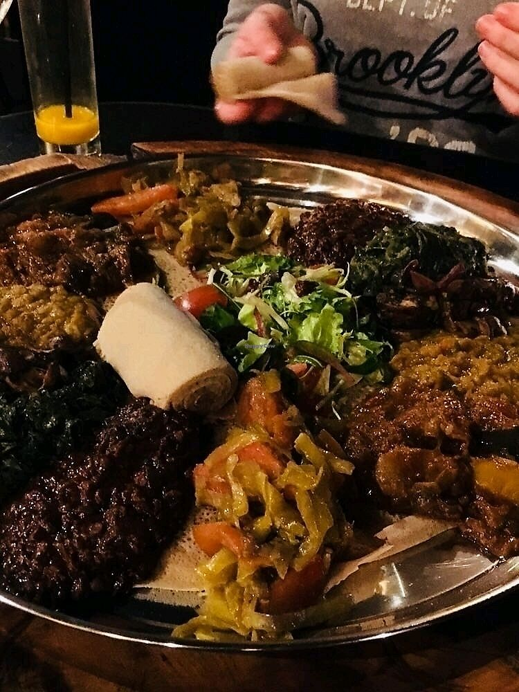 "Photo of Toukoul  by <a href=""/members/profile/nixxer"">nixxer</a> <br/>Yummie! The vegan plate :) <br/> March 1, 2018  - <a href='/contact/abuse/image/46415/365506'>Report</a>"