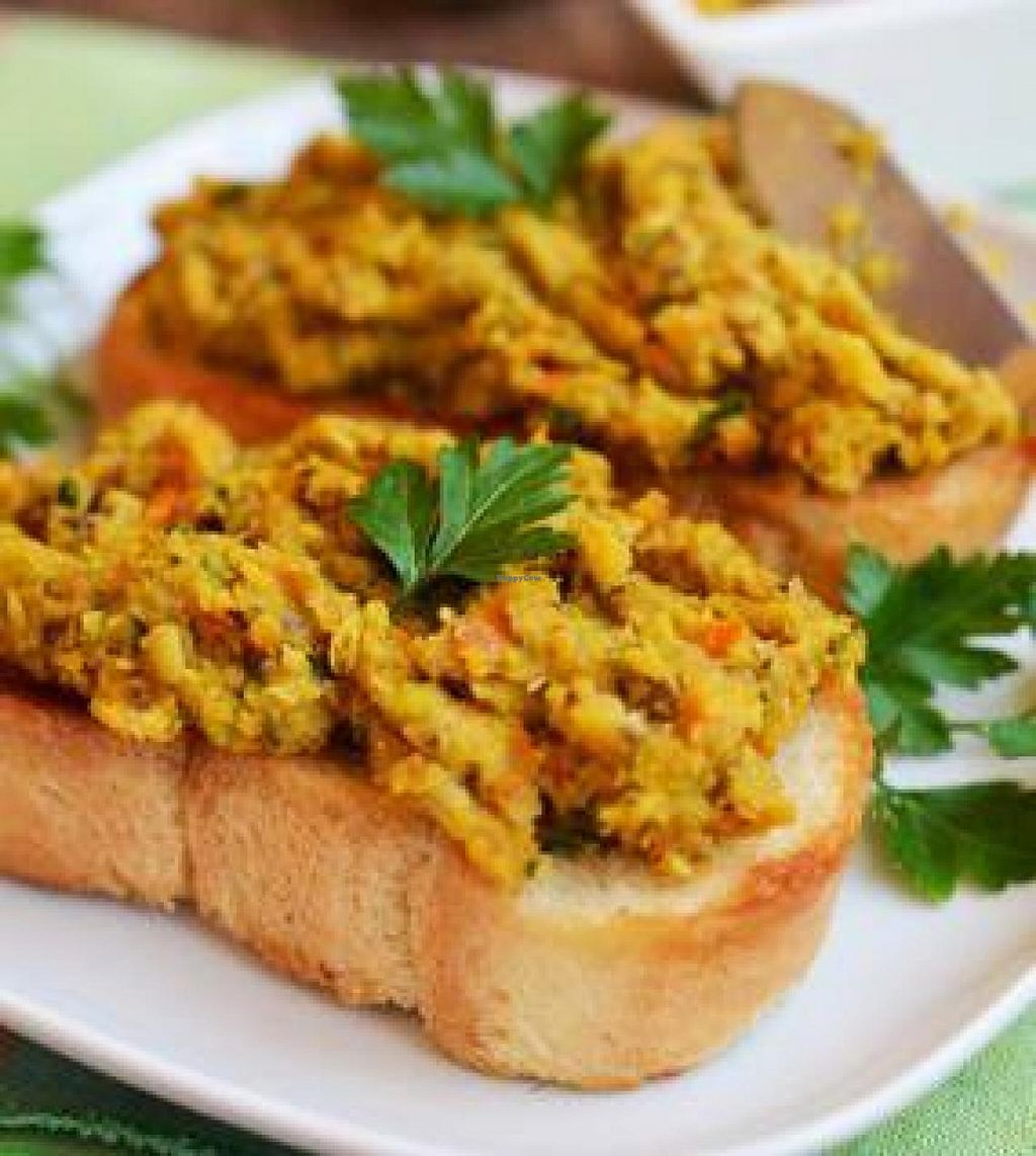 """Photo of Vege Club Amar  by <a href=""""/members/profile/community"""">community</a> <br/>Lentil vegetable pate on a sandwich <br/> May 8, 2014  - <a href='/contact/abuse/image/46416/69602'>Report</a>"""